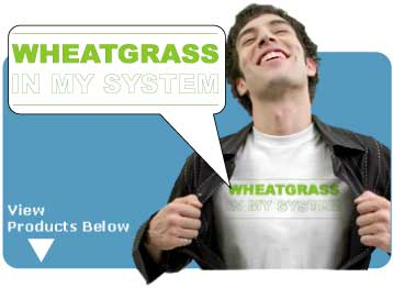 WheatGrass in My System T-Shirts